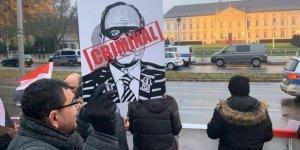 Katil Sisi'ye Almanya'da Protestolu Karşılama