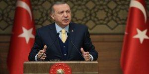 Erdoğan: 'Suriye Milli Ordusu Oradaki Yiğitlerdir, Mücahitlerdir!'