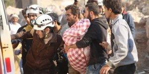 İdlib'de 25 Günde Yaklaşık 50 Bin Sivil Yerinden Edildi, 100 Sivil Öldürüldü