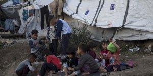 Moria'da Binlerce Mülteci Zor Koşullarda Yaşam Mücadelesi Veriyor