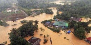 Malezya'da Sel Baskınlarında 11 Binden Fazla Kişi Tahliye Edildi