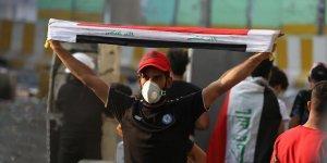 Irak'ta GöstericilerKerbelaİl Meclis Binasına Girmeye Çalıştı