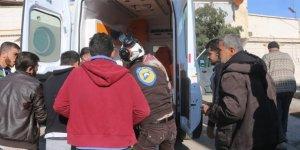 YPG/PKK Azez'de Sivilleri Hedef Aldı: 1 Ölü, 15 Yaralı