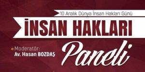 Hüda-Par'ın Düzenlediği Panelde İnsan Hakları Konusu Ele Alınacak
