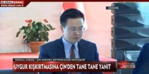 Çin Büyükelçilik Müsteşarı Uygur Akademisyeni Hedef Gösterdi, Perinçekgiller de Çanak Tuttu!