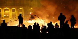 Beyrut'ta Gösterilere Müdahale: Onlarca Kişi Yaralandı