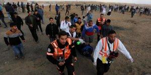 İşgal Askerleri Gazze Sınırında 13 Filistinliyi Yaraladı
