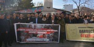 Doğu Türkistan'da Yapılan Zulümler Bingöl'de Protesto Edildi