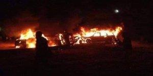 Bağdat'ta Askeri Konvoya Saldırı Düzenlendi