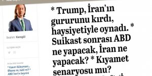 İbrahim Karagül: ABD ile İran Arasında Hep 2 Tarafın da Kârlı Çıktığı Bir Çekişme Yaşandı!