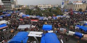 Irak'ta Protestocular, Başkentteki Tahrir Meydanı'nda Toplandı