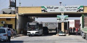 Suriye'ye İnsani Yardımların Gönderildiği Sınır Kapıları İkiye İndirildi