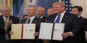 ABD ve Çin'den Ticaret Savaşını Bitirecek İmza