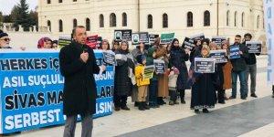 Sivas'ta Ahmet Dedenin Serbest Bırakılması İçin Eylem Yapıldı