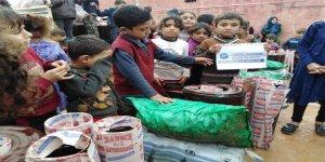 Özgür-Der'den Atme'deki Muhacir Ailelere Soba ve Kömür Yardımı