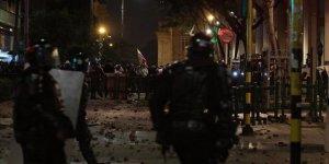 Kolombiya'da Göstericilerle Polis Çatıştı