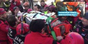 Elazığlı Depremzede 17 Saat Sonra Enkazdan Kurtarıldı