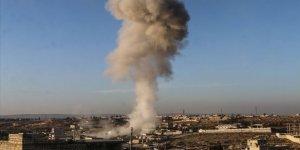 Rus Savaş Uçakları İdlib'de Hastane ve Fırını Hedef Aldı