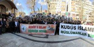 ABD'nin Kudüs'ü İlhak Girişimi Kocaeli'de Protesto Edildi