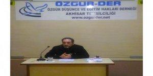 Akhisar Özgür-Der'de''Modernleşme ve Ulema'' Semineri