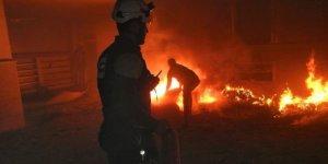 Fırat Kalkanı Bölgesi ElBab'aHava Saldırısı