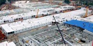 Çin'de 10 Günde Yapılan Hastane Açıldı