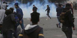 Irak'ta Sadr Destekçileri ile Göstericiler Arasında Arbede