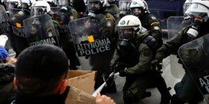Yunanistan'da Göçmen Gerginliği