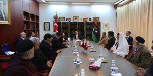 Libya'daki Kanaat Önderlerinden Türkiye'nin Trablus Büyükelçiliği'ne Teşekkür Ziyareti