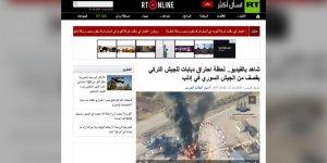 Rus Haber Ajansı İdlib'de TSK'ya Yapılan Saldırının Görüntülerini Yayınlandı