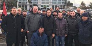 İBB'de İşten Çıkarılan İşçilerin Mücadelesi Devam Ediyor