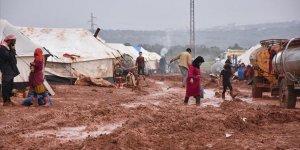 İdlib'de Çadırdaki Sobadan Zehirlenen 4 Kişilik Aile Yaşamını Yitirdi