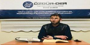 Sivas Özgür-Der'de Kalem Suresi İşlendi