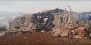 Esed ve Rusya İdlib'de Yetimhane ve Çadır Kampları Vurdu!