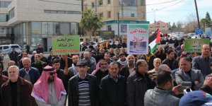 """Yüzyılın Anlaşması"" Ürdün'de Protesto Edildi"