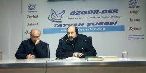 Tatvan Özgür-Der'de '28 Şubat ve Müslümanlar' Semineri