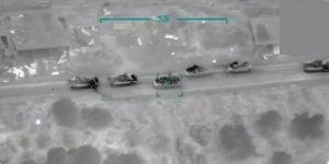 TSK Esed Rejiminin Zırhlı Araç Konvoyunu Yoketti