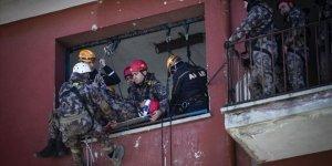Polis Afet Anında Arama Kurtarma da Yapacak