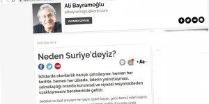 """İdlib Bahsinde Bile Sözü """"Erdoğan'ın Otoriterliği""""ne Getirmek Liberalliğin Maharetlerinden Olsa Gerek!"""