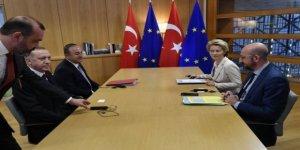 Times: Erdoğan AB'yle Görüşmesinde Masayı Terk Etti