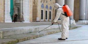 90 Bin Cami, Cuma Namazı İçin Dezenfekte Ediliyor