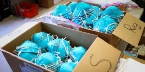 Çin'in Tanı Kitleri Gibi Maskeleri de Çöp Çıktı