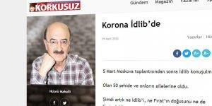 Utanmaz Şebbiha: İdlib'deki Tipler Koronadan Daha Tehlikeli!