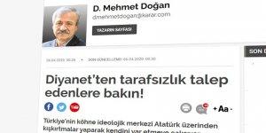 Diyanet'ten Tarafsızlık Talep Edenler Öncelikle Atatürk/çülük Dayatmasından Vazgeçmeli Değil mi?