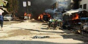 Afrin'de Bomba Yüklü Araç Saldırısı: 11'i Çocuk 40 Kişiyi Katlettiler!