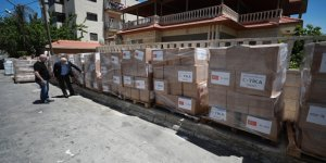 TİKA'dan, Batı Şeria ve Kudüs'te 7 Bin 500 Aileye Ramazan Yardımı