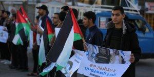 Suudi Arabistan Gazze'de Protesto Edildi