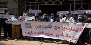 Filistinliler 'İsrail'le Kültürel Normalleşme' Çabalarını Protesto Etti