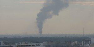Libya Ordusu Hafter Milislerine Yakıt Taşıyan Araçları İmha Etti