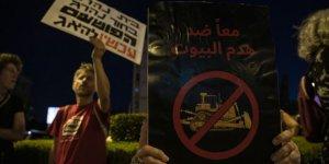 İsrail'de Aktivistlerden 'İlhak Planı' Karşıtı Gösteri